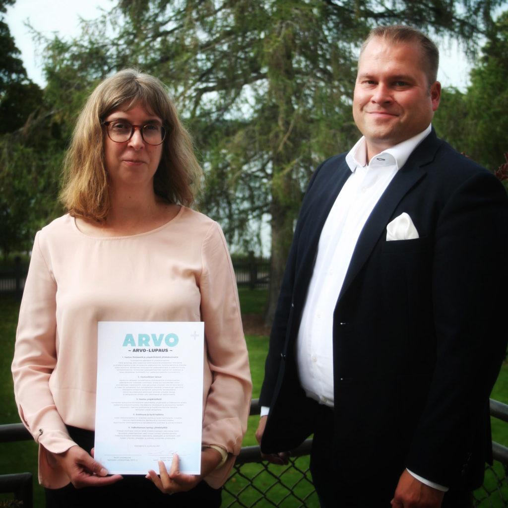 NAL Asunnot allekirjoitti Arvo-lupauksen